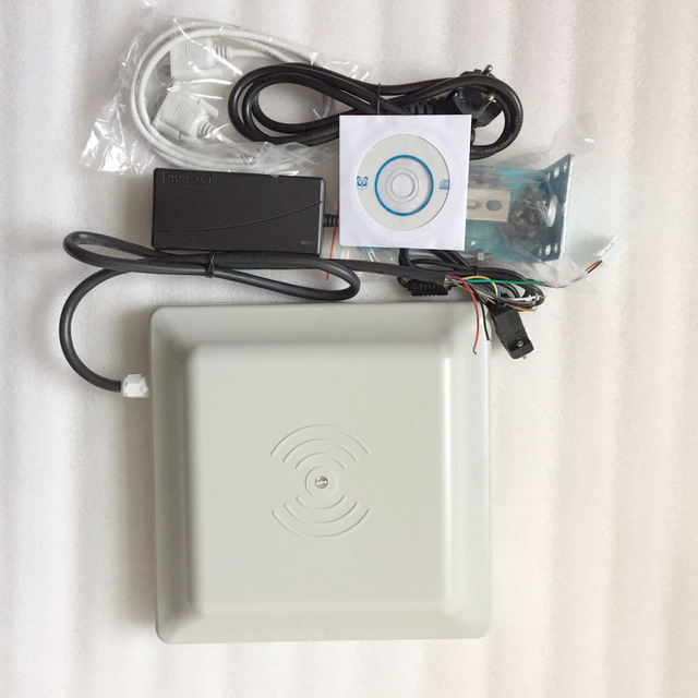 UHF RFID READER 6M LONG RANGE READER ,RS232/485 WITH WIEGAND +FREE SDK (FCC  APPROVED)-RS232